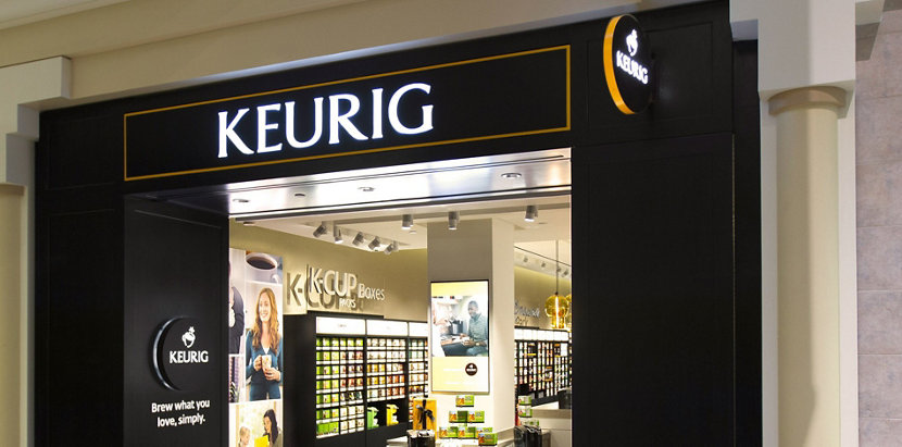 Keurig Flagship Store Features Retail Pendant Lights