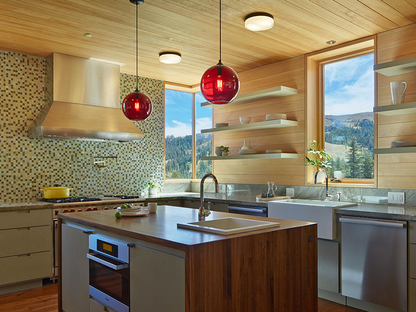 How Many Pendant Lights Should Be Used Over A Kitchen Island - Globe pendant lights over island