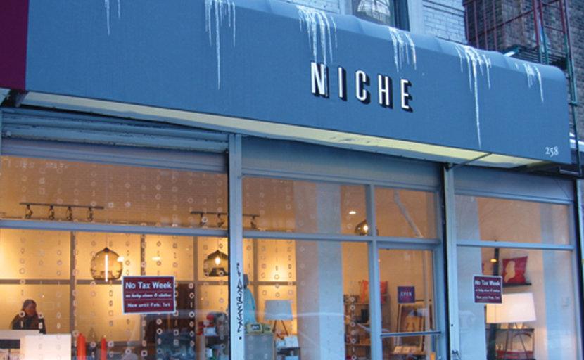 Niche storefront NYC