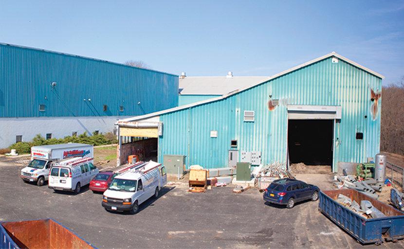 factory renovation in Beacon, NY