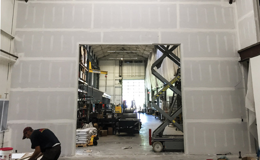 factory renovation