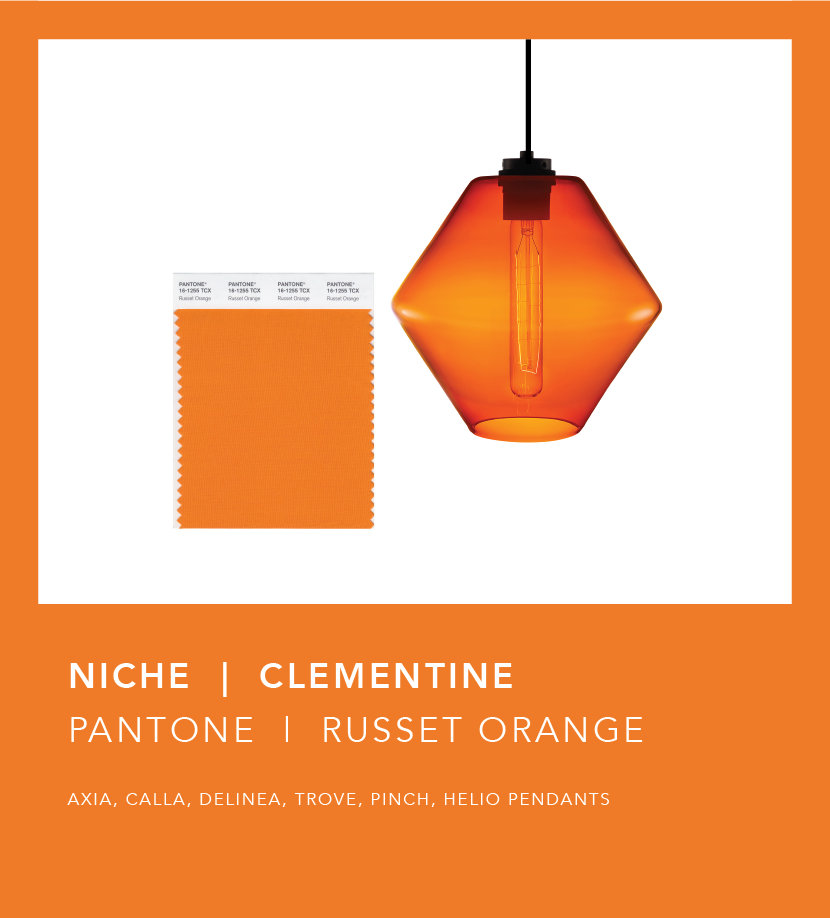 Pantone Fall 2018 Color Trend Report - Russet Orange Clementine