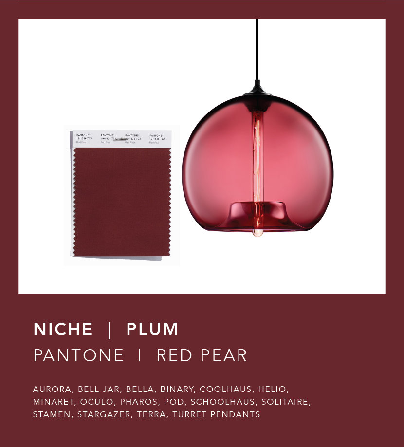 Pantone Fall 2018 Color Trend Report - Red Pear Plum
