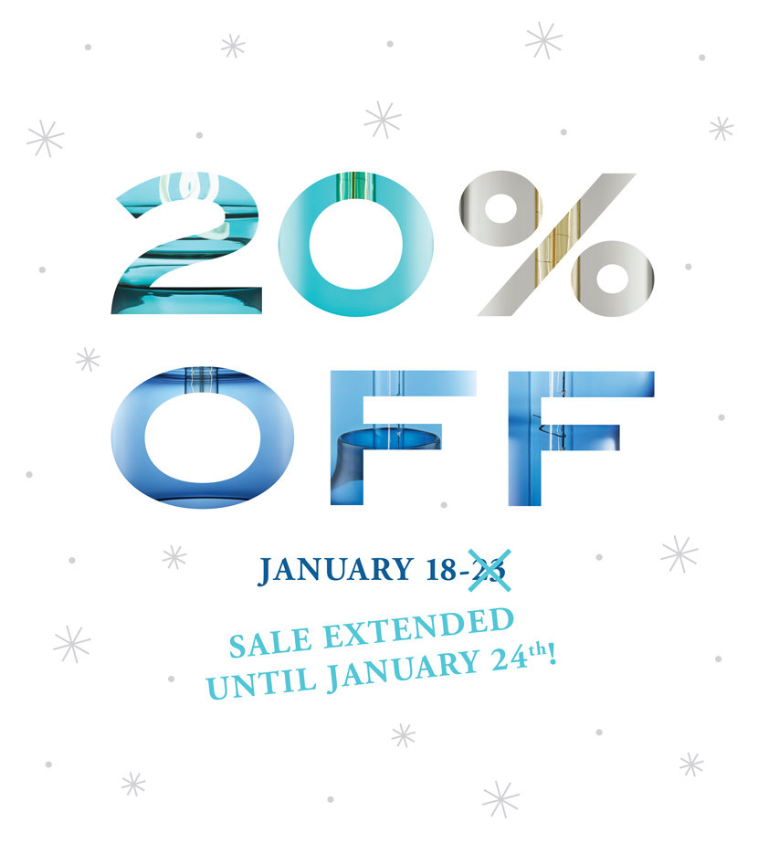 Sale Extended One More Day - Take 20% Off