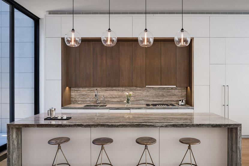 Stamen Pendant Lights in Best Apartment