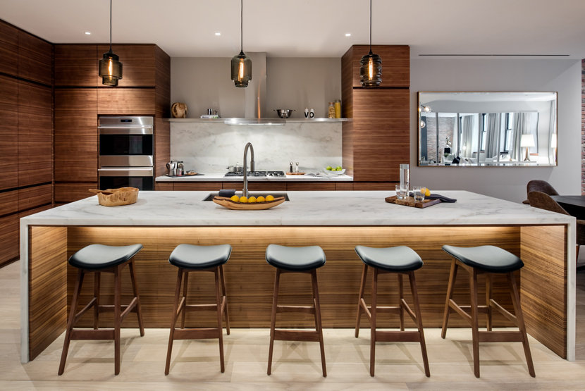 3 kitchens with crystalline modern pendant lights - Modern Pendant Lighting For Kitchen