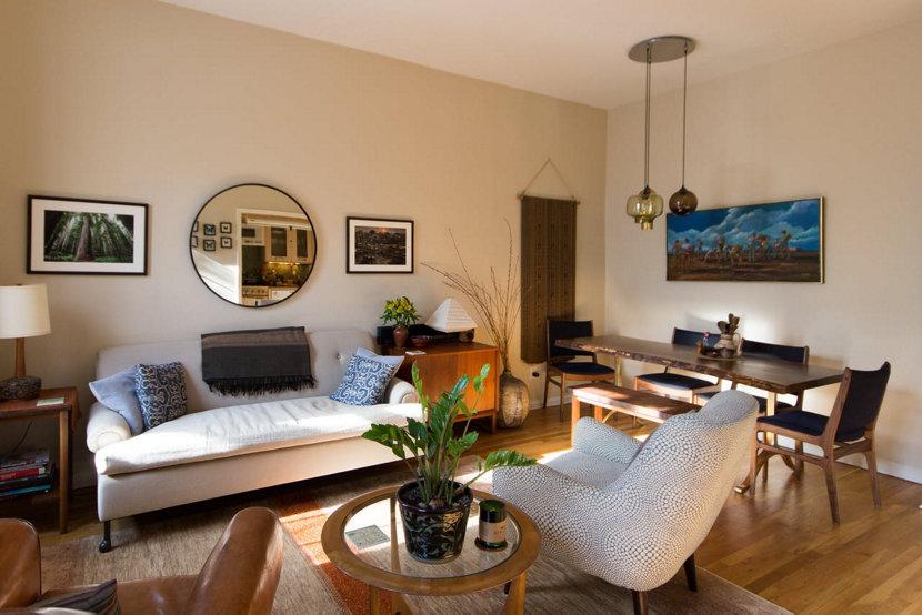 Modern Pendant Lighting in Brooklyn Home