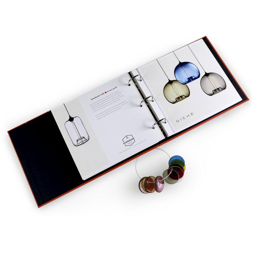 modern lighting product binder