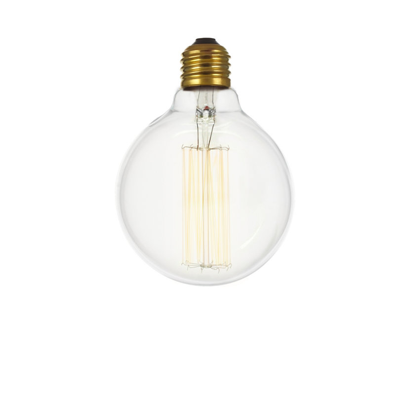 Incandescent Vintage Globe Bulb Clear