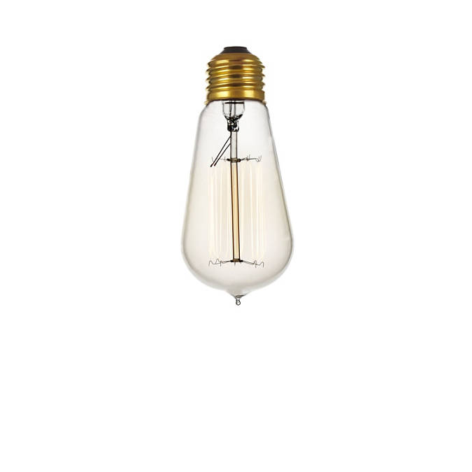 Incandescent Edison Bulb (240V)