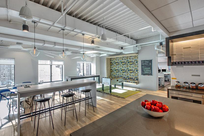 Modern Office Lighting Installation - Crystal Trove