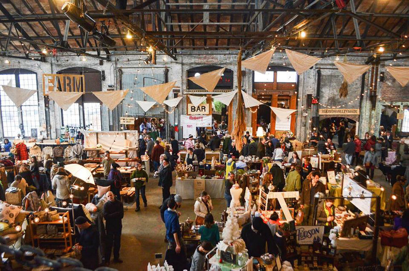 Basilica Farm and Flea Craft Fair in Hudson, NY
