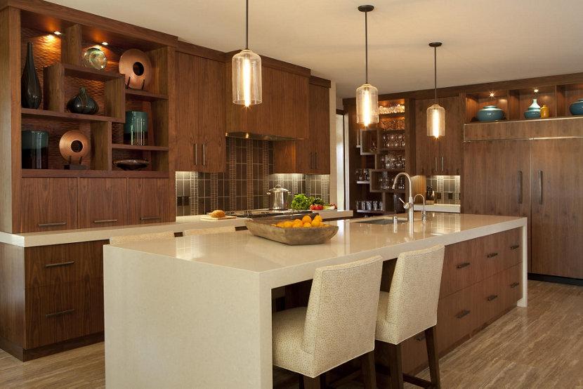 kitchen island modern lighting