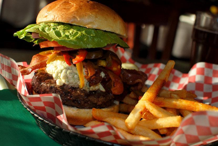 Bite into a Burger at Beacon Falls Cafe