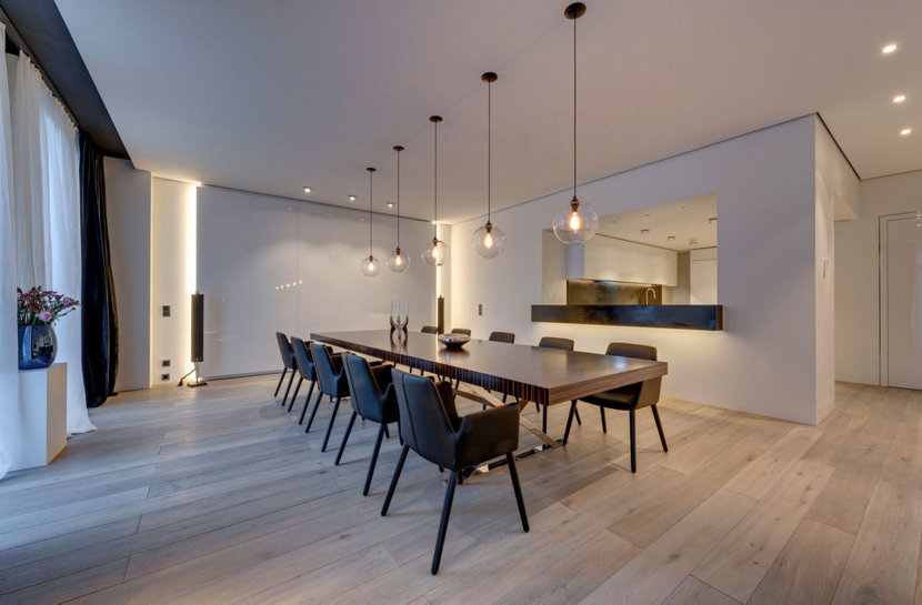 Modern Loft Features Niche Pendant Lighting - Solitaire