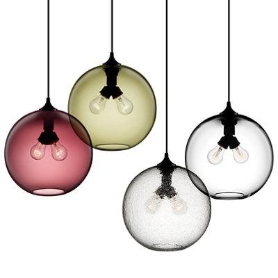Orb Pendant Lights - Binary