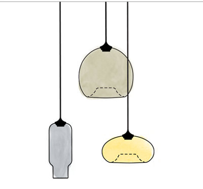 Glass Pendant Lighting Sale - Select Pendants