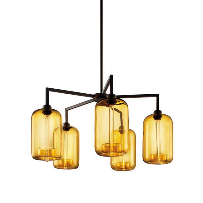 Niche modern quill modern chandelier collection quill 5 modern chandelier mozeypictures Gallery