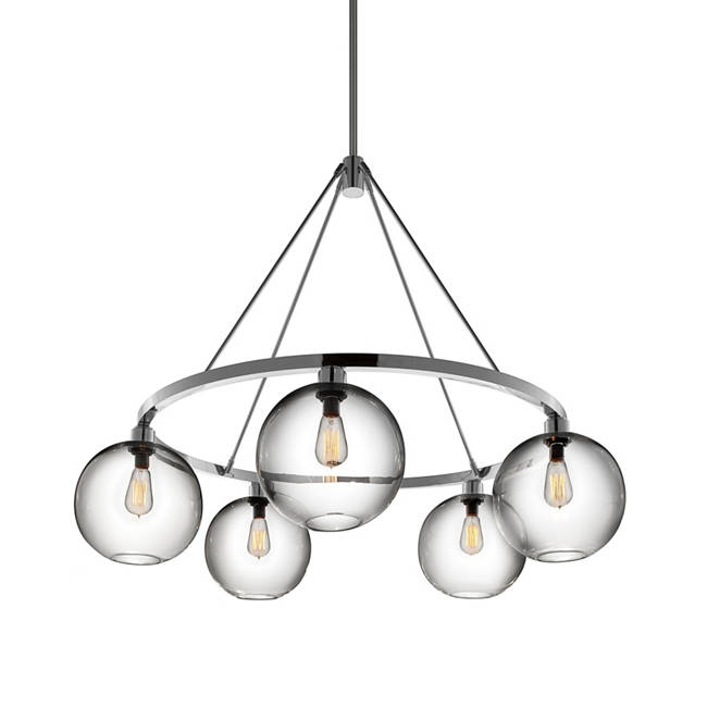 Solitaire modern chandelier aloadofball Images