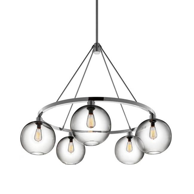 Niche modern chandeliers solitaire modern chandelier aloadofball Gallery