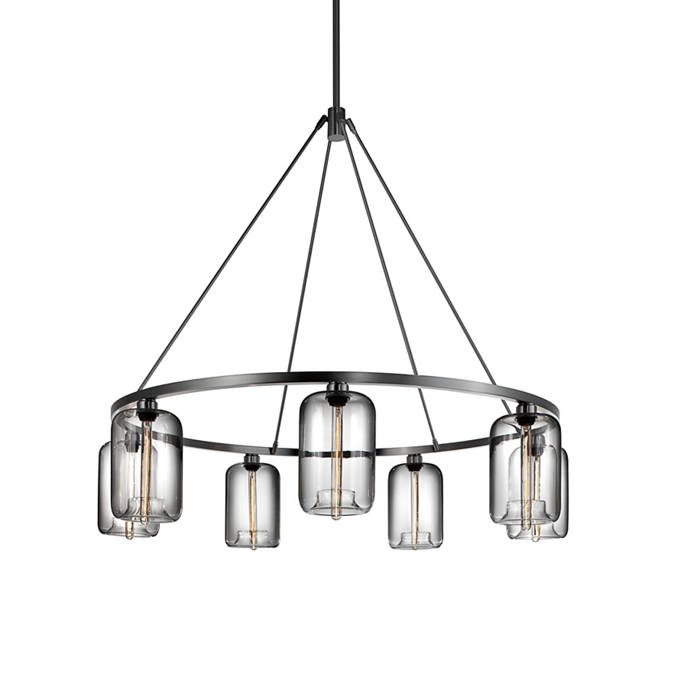 Solitaire modern chandelier sola 48 chandelier collection sola 60 modern chandelier aloadofball Image collections