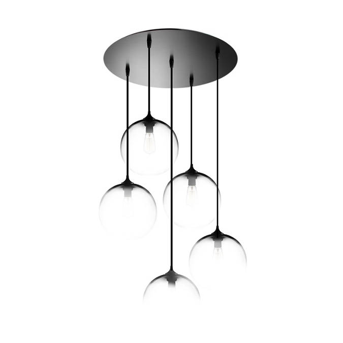 Circular 5 Collection 7 Modern Chandelier