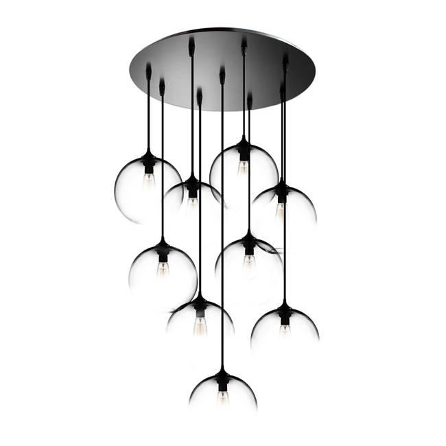 Circular 9 Modern Chandelier