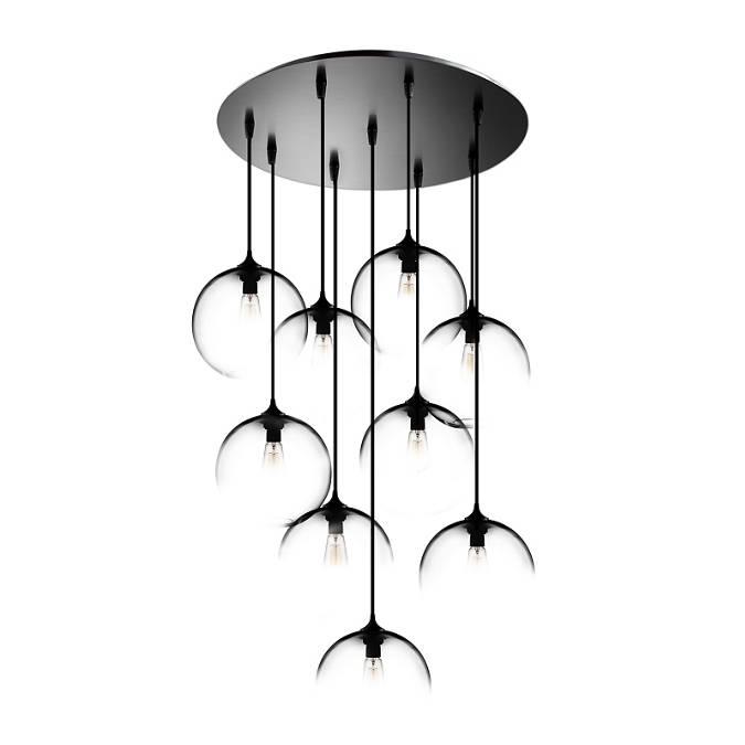Circular-9 Modern Chandelier