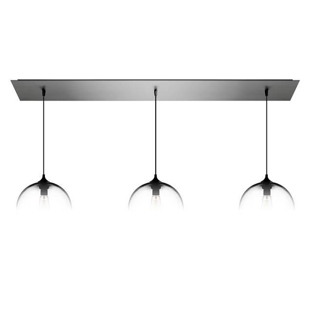 Linear-3 Modern Chandelier