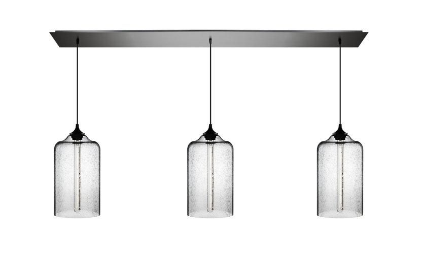 linear metal modern lighting canopy