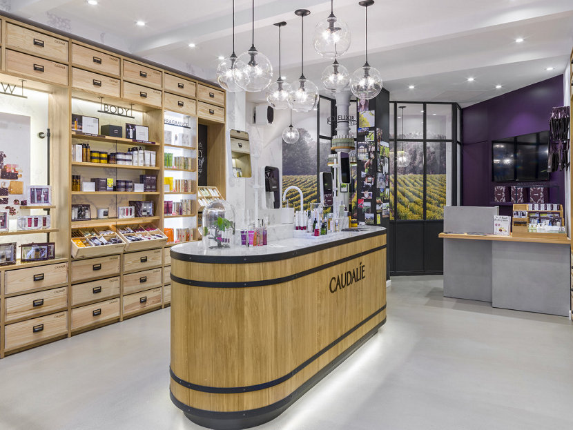 Pendant Lighting Clusters in Caudalie