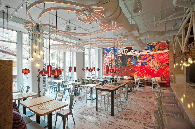 restaurant pendant lighting in China Chilcano