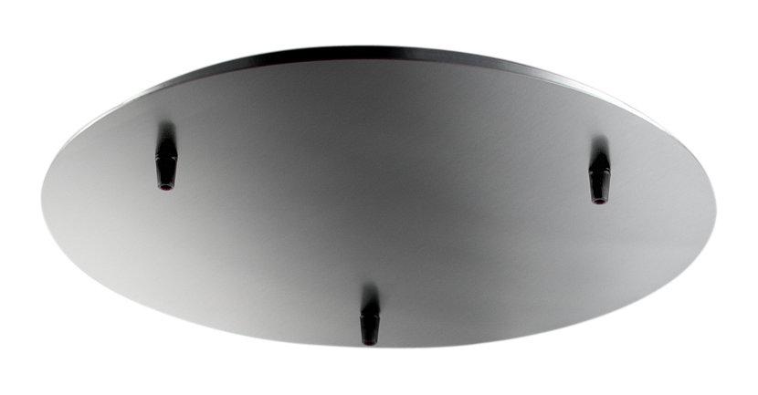 circular metal modern lighting canopy