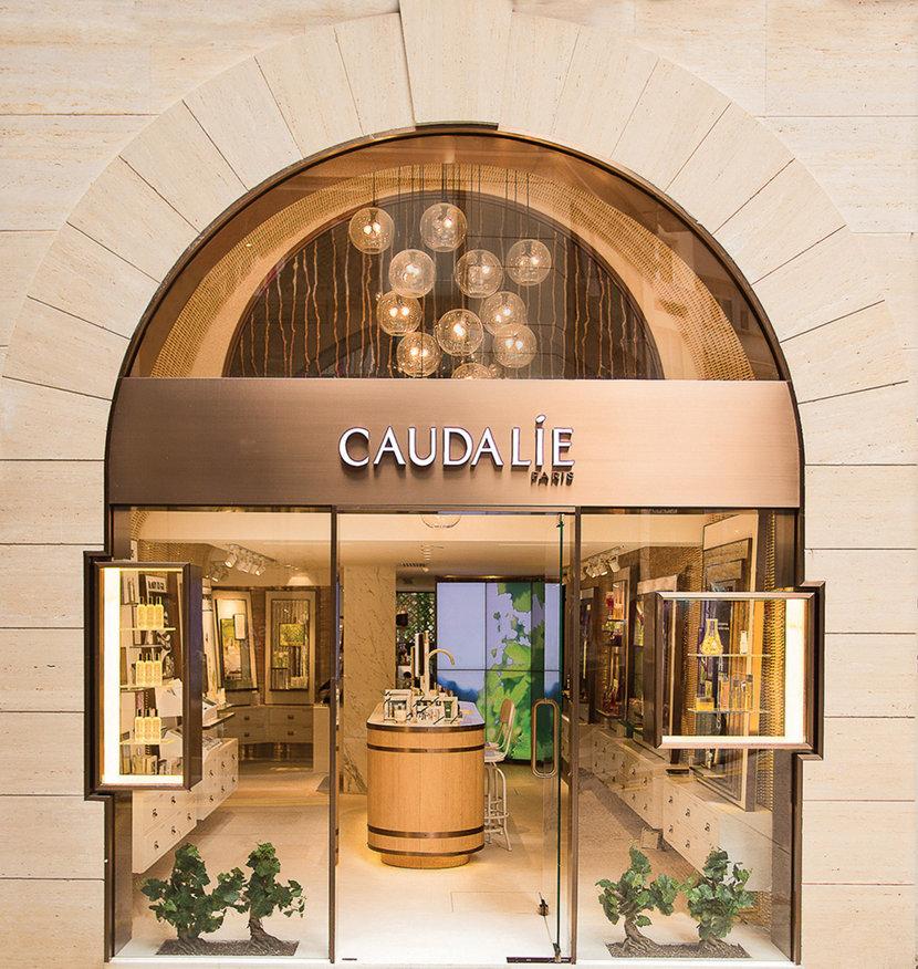 Retail Pendant Lighting Provides a Centerpiece for Caudalie