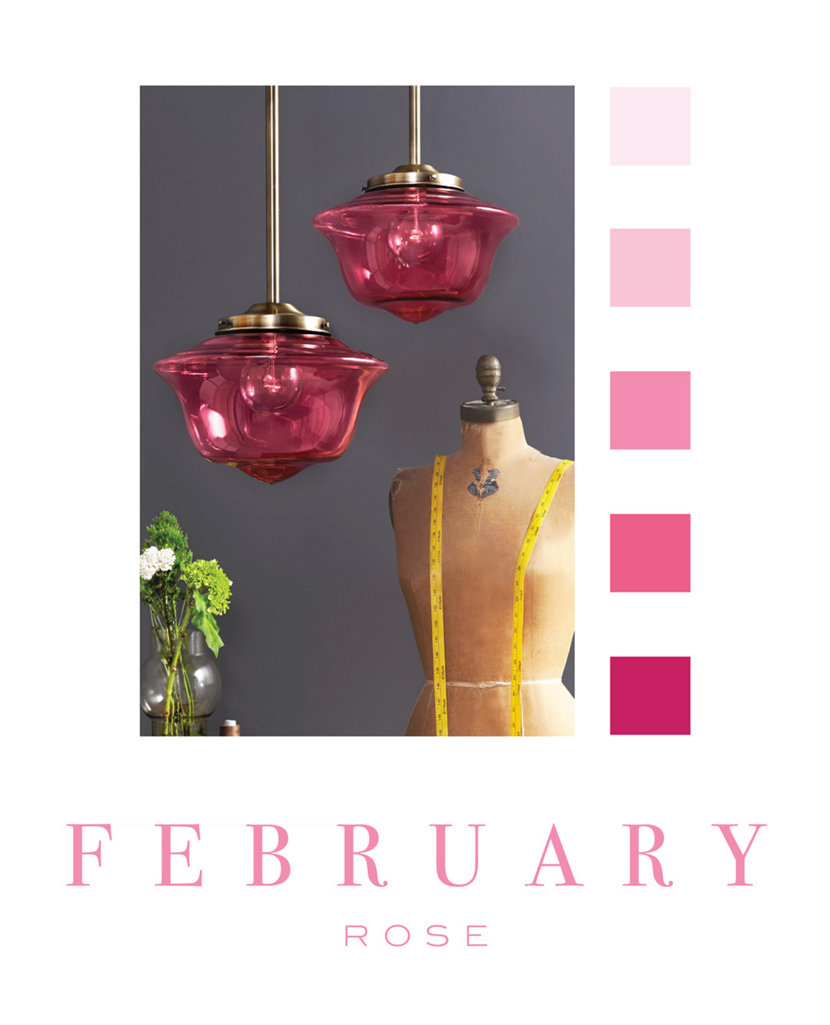 Color of the Month - February - Rose