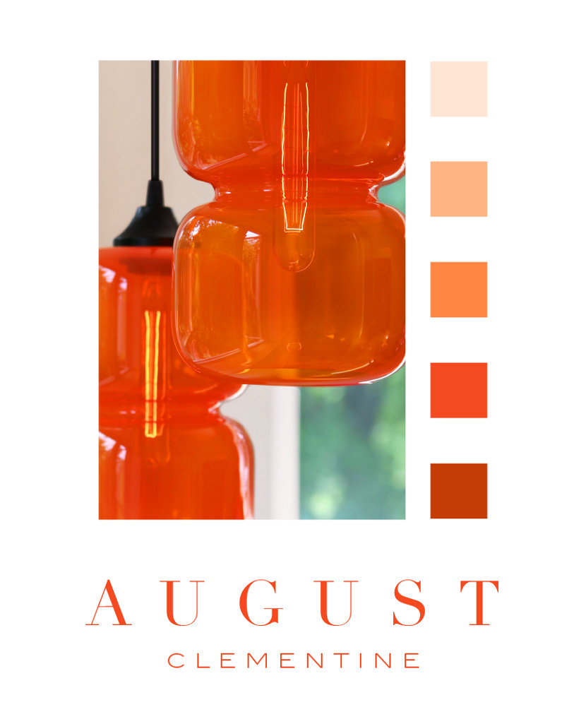 Color of the Month - Clementine