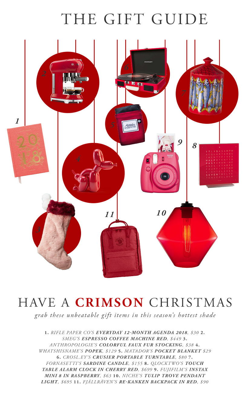 2017 Holiday Gift Guide - Crimson Christmas
