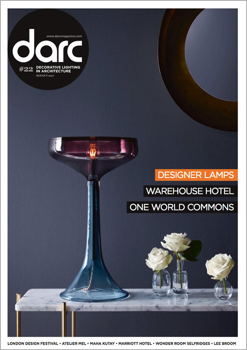 Retail Pendant Lighting Featured in Darc Magazine