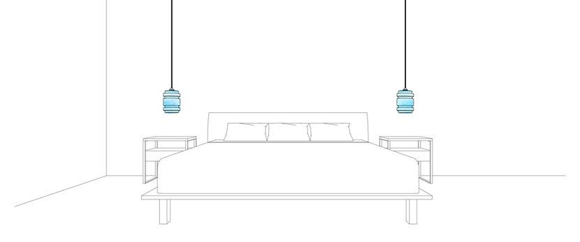 Delinea Pendant Lights - Crystalline Series