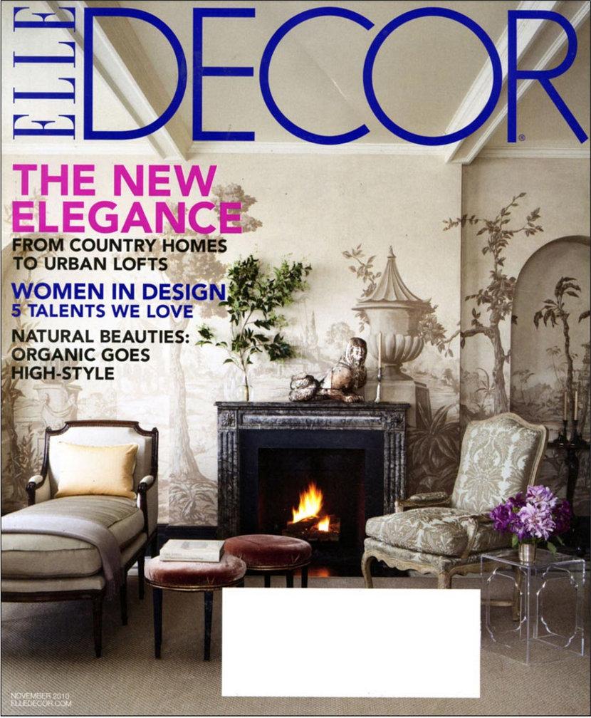 Niche Modern Lighting in November 2010 Elle Decor