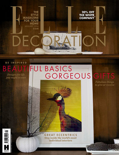 January 2016 Elle Decoration UK