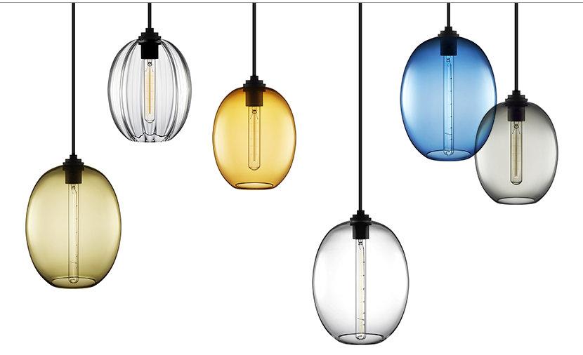 Ellipse Grand and Ellipse Petite Modern Pendant Lights