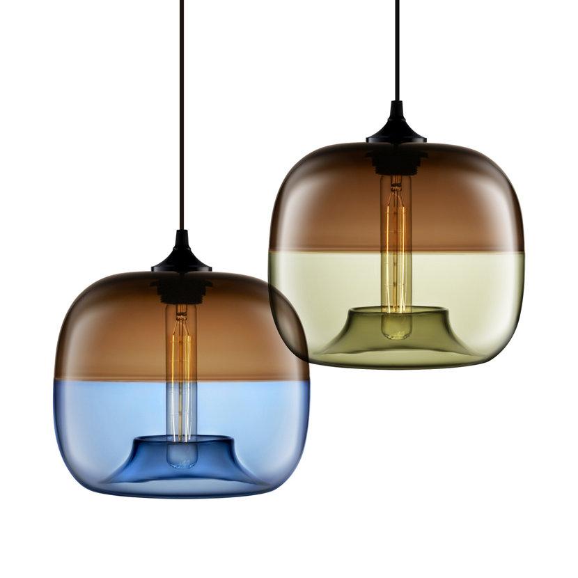 encalmo glass pendant lights