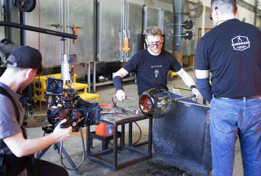 Glass-Blowing at Niche