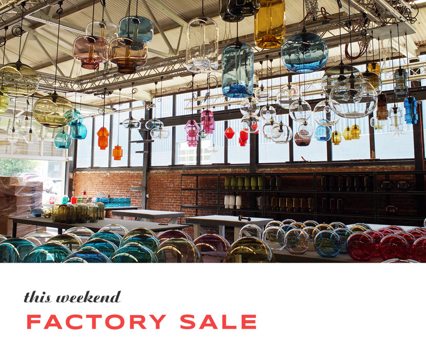 Save Big at the Fall Factory Sale This Weekend