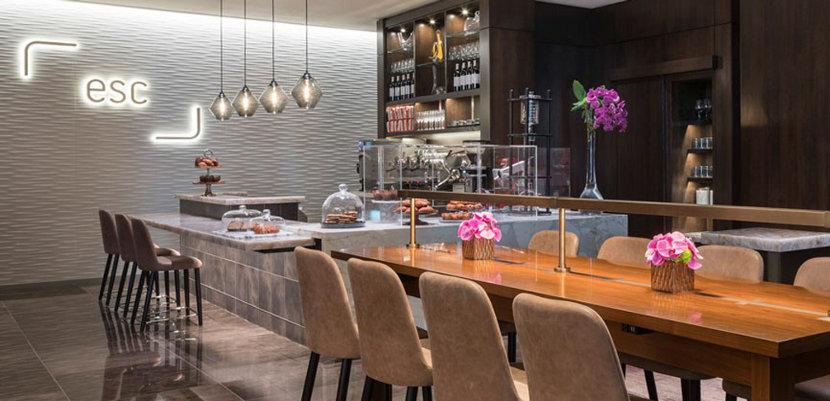 Crystalline Modern Pendant Lighting - Four Seasons Hotel
