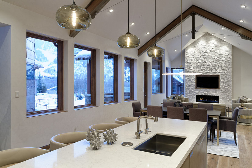 Kitchen Island Pendant Lights - Smoke Aurora