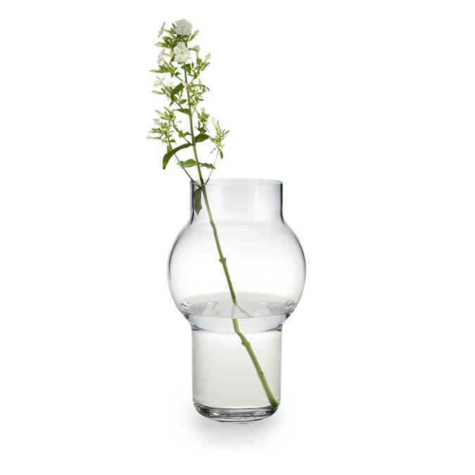 Taper Tall Modern Gl Vase on