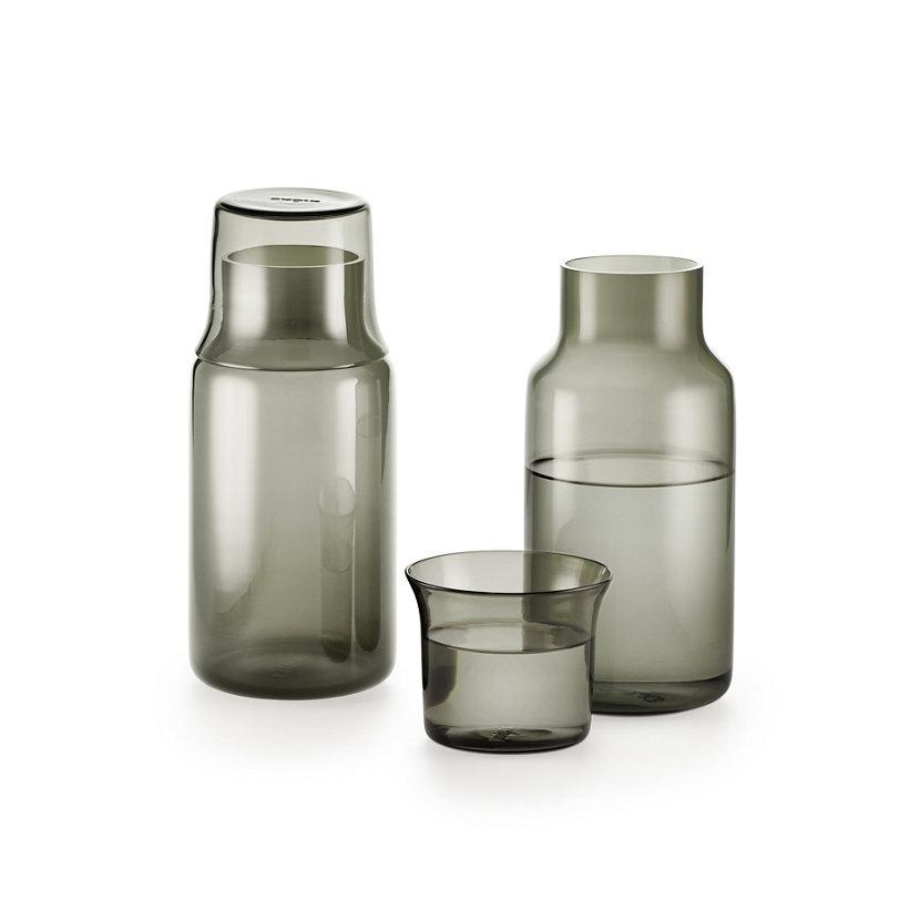 modern glass carafe