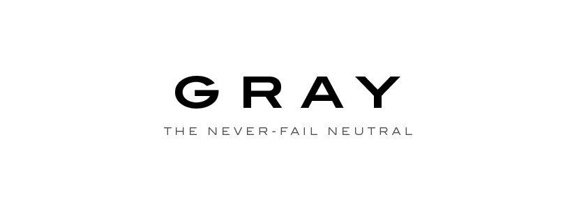 signature Gray glass color header